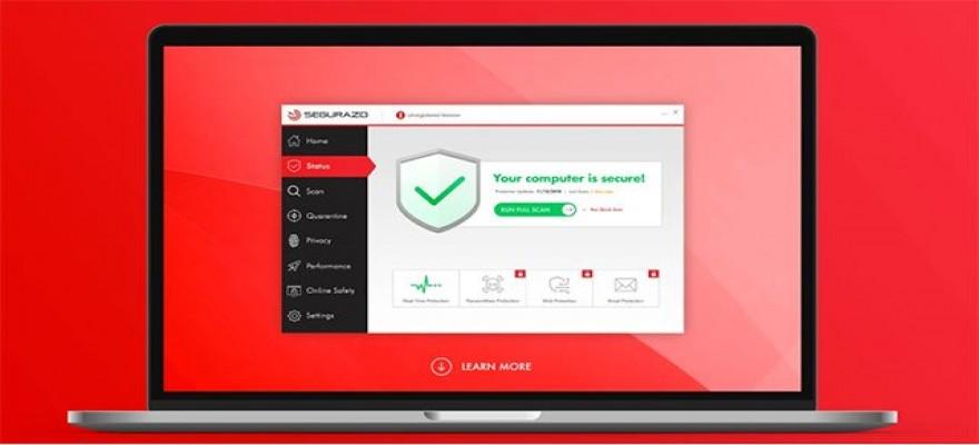 Phần mềm Segurazo / SAntivirus làm máy chạy chậm, không chơi được các game giả lập và không mở được các phần mềm