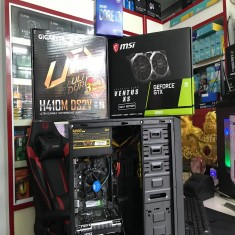 PC Gaming GIGABYTE H410MH/CPU I3 10100/ RAM 8G/ MSI GTX 1650 VENTUS 4G/SSD 240GB