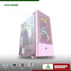 Case VSPTECH Gaming B86P - Màu Hồng (No Fan)