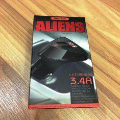 Sạc xe hơi Remax Aliens xịn 3.4A