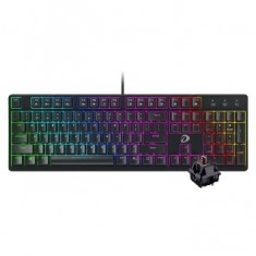 Bàn phím cơ Gaming DAREU EK1280 RGB Brown D Switch