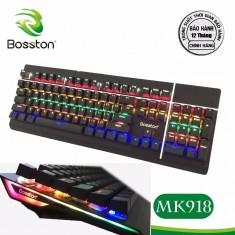 Bàn phím cơ Bosston MK 918 Phím Cơ Led RGB
