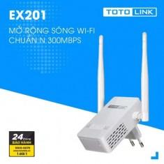 Thiết bị mở rộng sóng WiFi TOTOLINK EX201