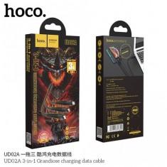 Cáp sạc chống đứt chống rối dây dù lightning 3.0A HOCO UD02 - DÀI 2m