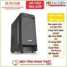 Cấu hình PC Văn Phòng - Thế hệ 10 - G6400 - RAM 8G - SSD 256G