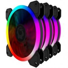 FAN CASE FORGAME COLOR GLAZE RGB (3 FAN)