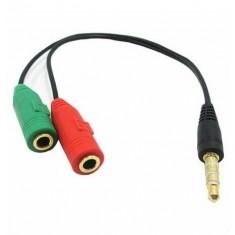 Dây chia lỗ tai nghe và micro