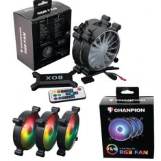 Fan Case CHANPION SLIM RGB ( Bộ 3 fan RGB có hub + controler )