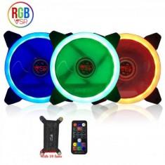 Bộ 3 Fan case led RGB VSP