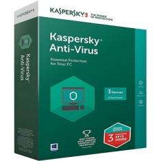 Phần mềm diệt virus Kaspersky Antivirus cho 3 PC