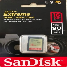 Thẻ Nhớ SDHC SanDisk Extreme 16GB - 90MB/s