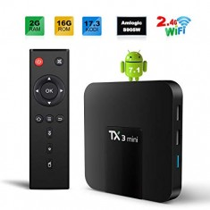 Tivi Box Android TX3 mini - RAM 2Gb - ROM 16Gb