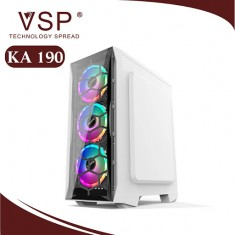 Case VSP KA-190 2 màu đen và trắng- No Fan